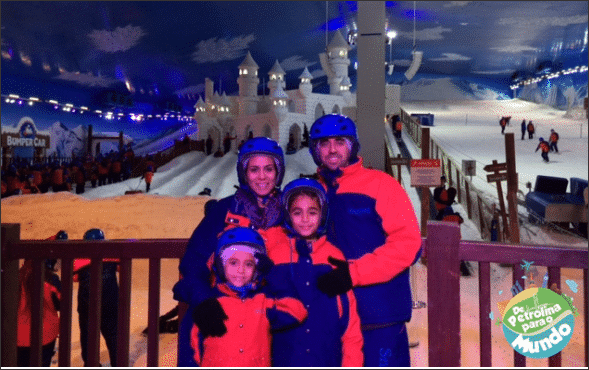 Snowland Neve em Gramado