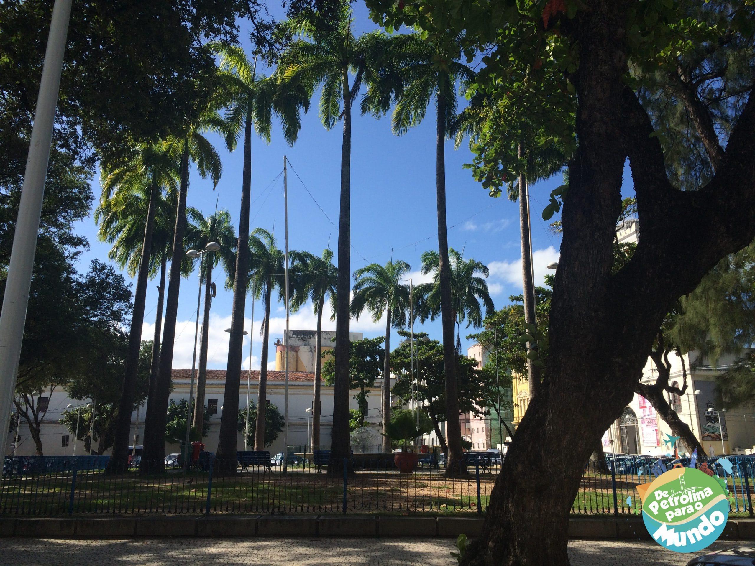 Praça do Arsenal da Marinha em Recife PE