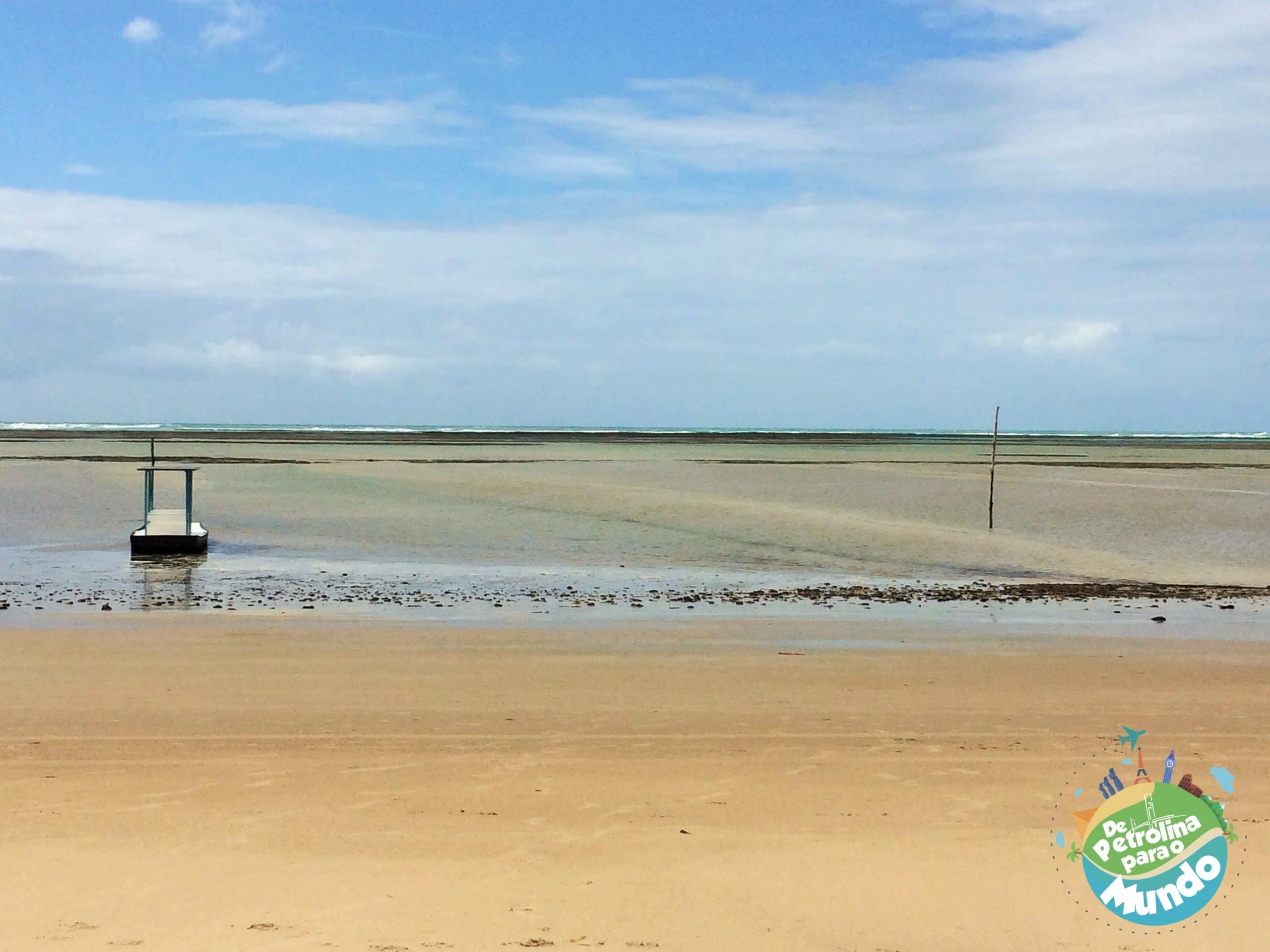 Praia em frente a Pousada Barra Velha