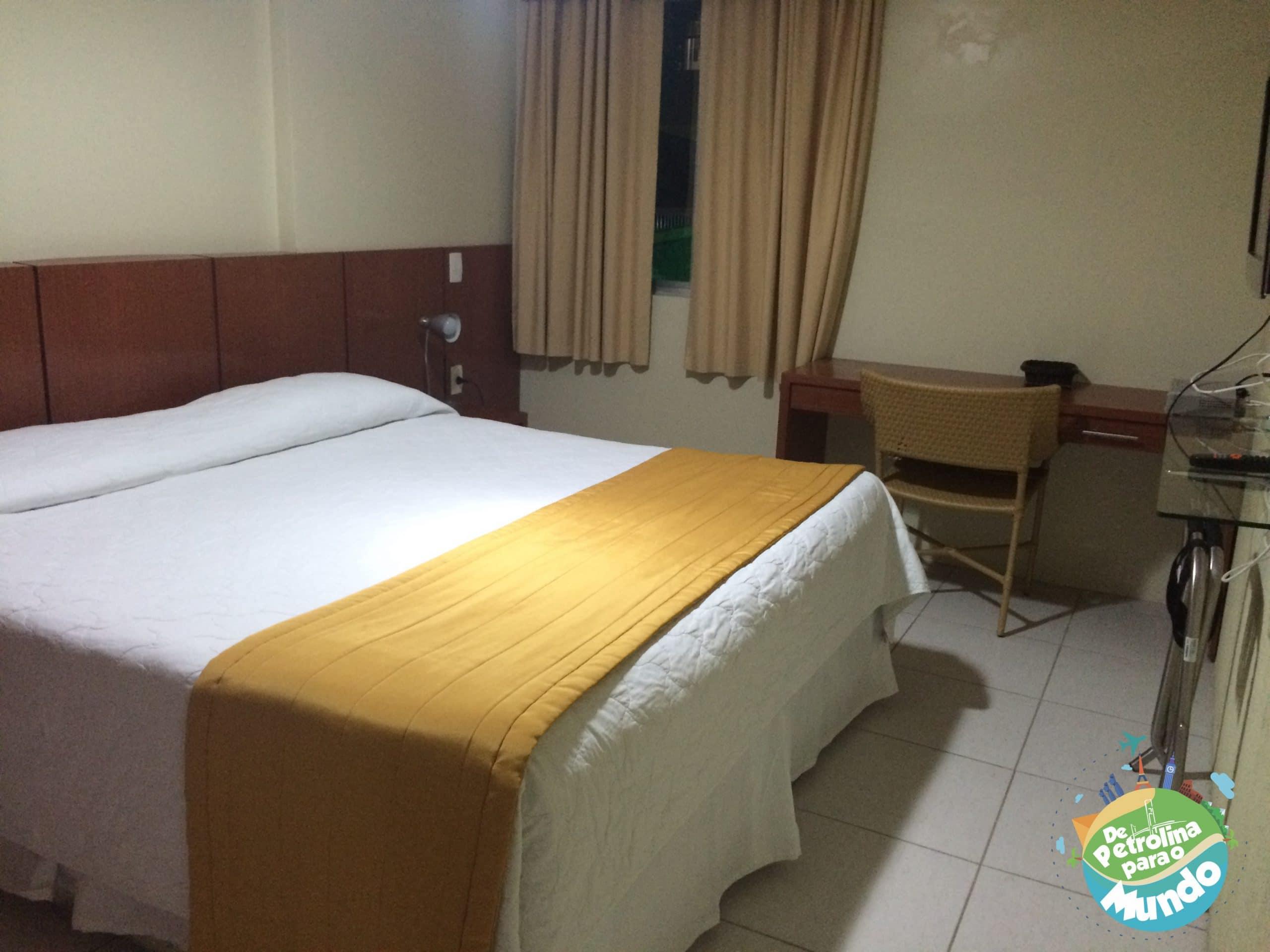 Quarto do Hotel do Sesc em Garanhuns em PE