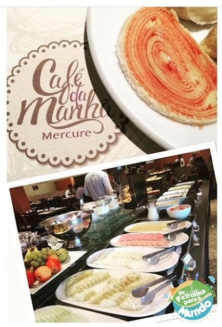 Café da Manhã no Hotel Mercure em Recife