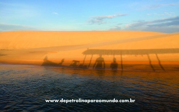 Dunas douradas de Piaçabuçu