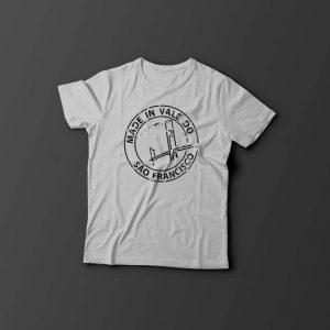 """Camiseta """"Made in Vale do São Francisco"""""""